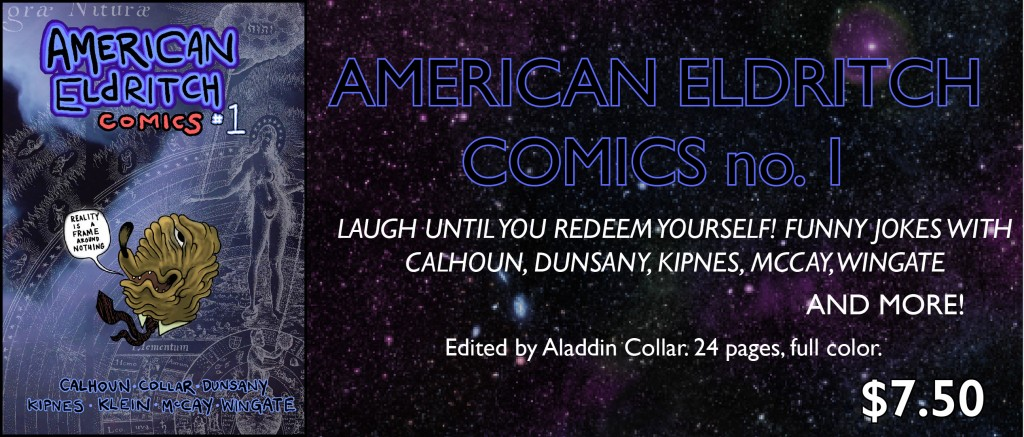 American Eldritch Comics 01