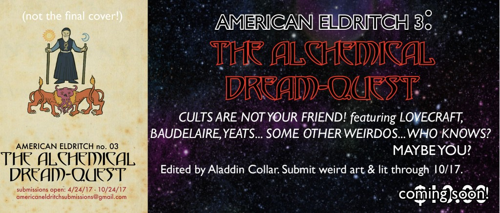 American Eldritch 03: The Alchemical Dream-Quest Promo Card